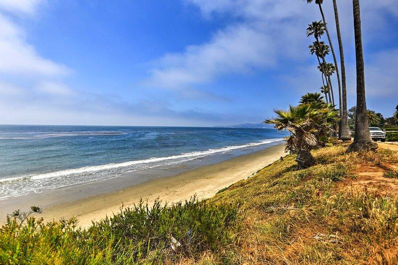 Var säker på att besöka Santa Barbara, bara 5 minuter bort!