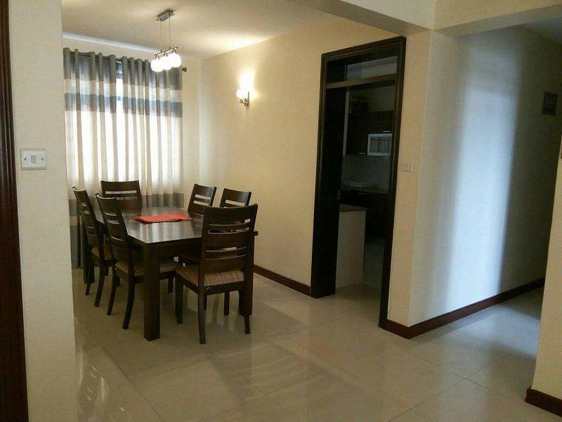 Offering beautiful serenic Furnished 2 Bedrooms at Westland along Waiyaki Way., vacation rental in Limuru