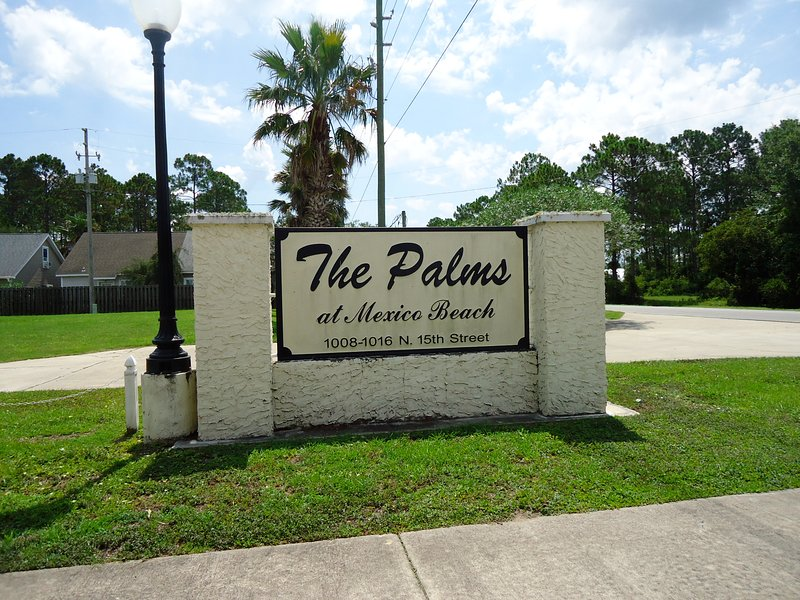 The Palms of Mexico Beach, a peaceful retreat