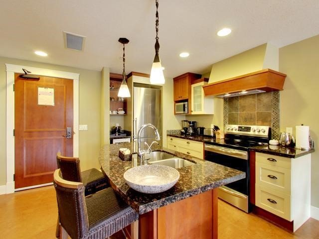 Prepare meals in your fully equipped luxury kitchen