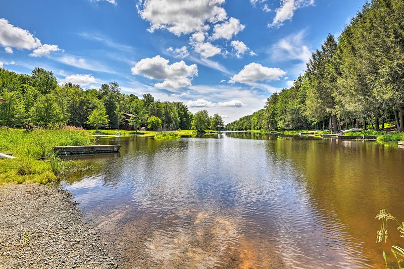 Fall in love with the home's location on a 5,000-acre resort community.
