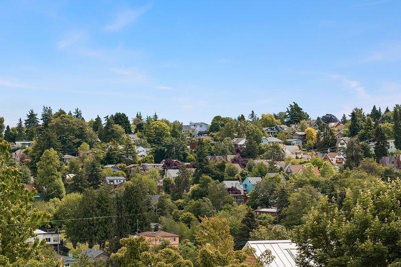 Enjoy views of Madison Valley