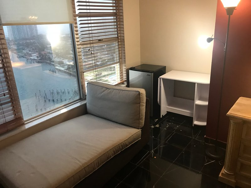 Window Chaise  lounge, Fridge, etc