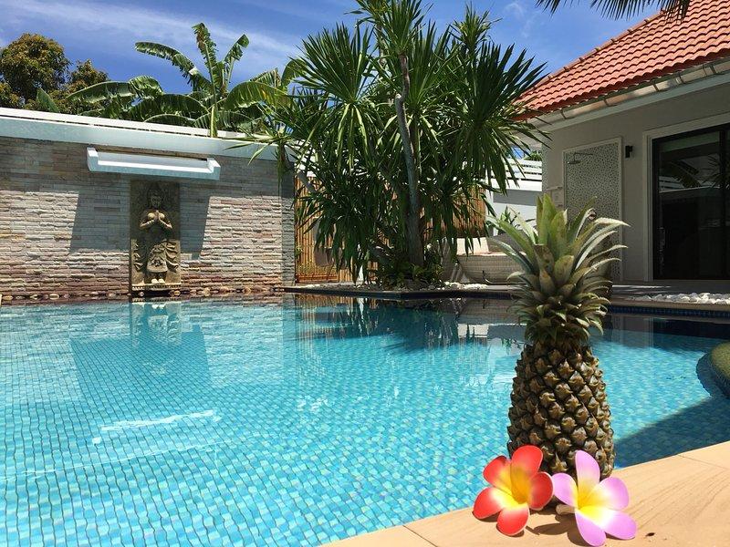 Beautifull e piscina rinfrescante.