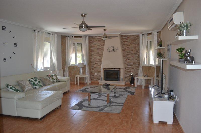 Fabulous comfortable lounge area