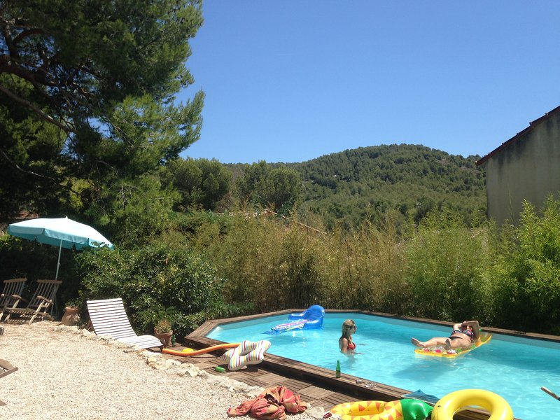 Piscine, campagne, calanques, mer, what'else ?, holiday rental in Marseille
