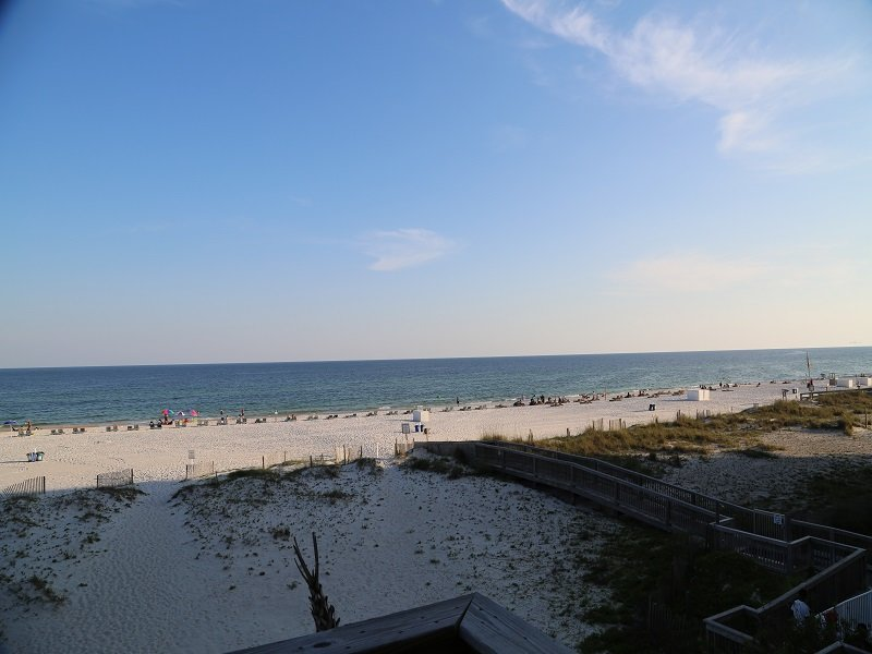 Direct gulf front view from balcony!