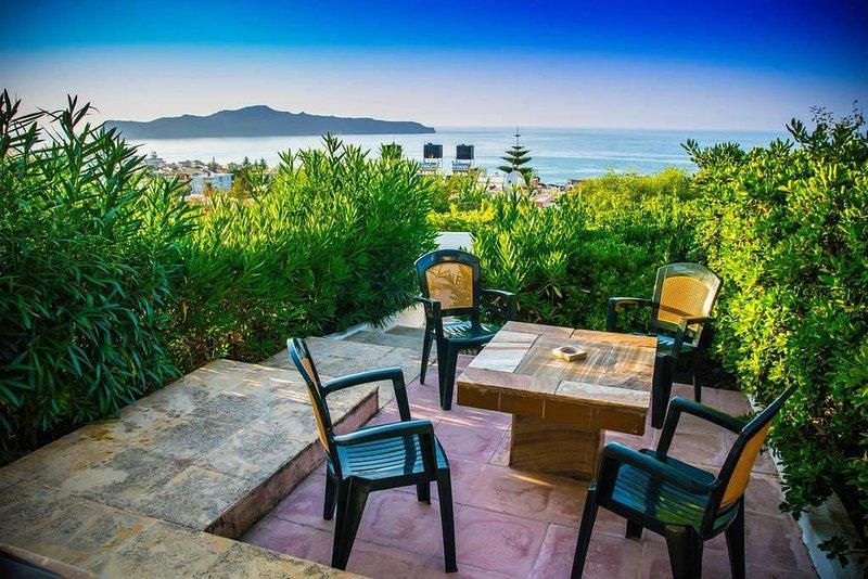 Eva Villa 1, location de vacances à Stalos