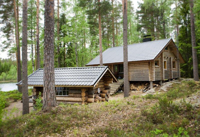 Private island, solar energy and wild nature, cottage, sauna, boat, eco toilet, casa vacanza a Central Finland