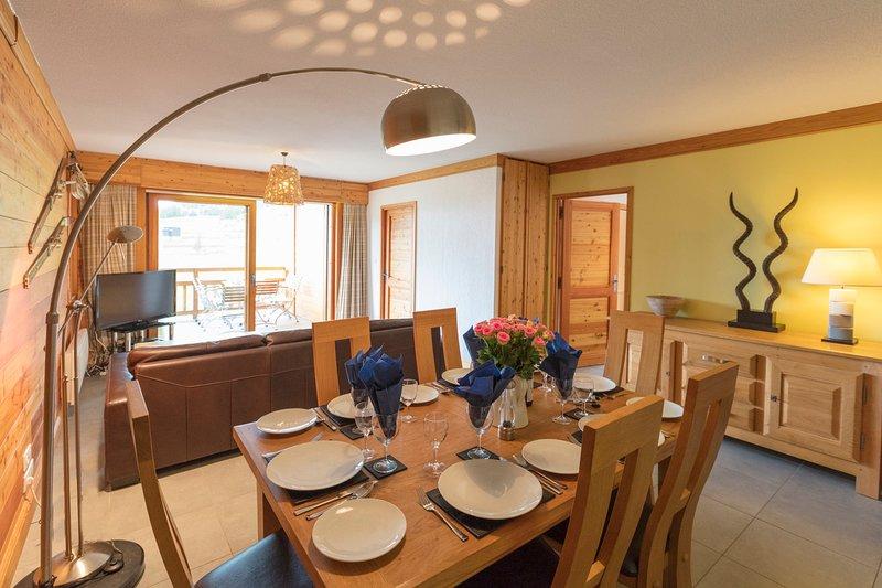 Chalets du Janus, Apartment F, holiday rental in Cesana Torinese