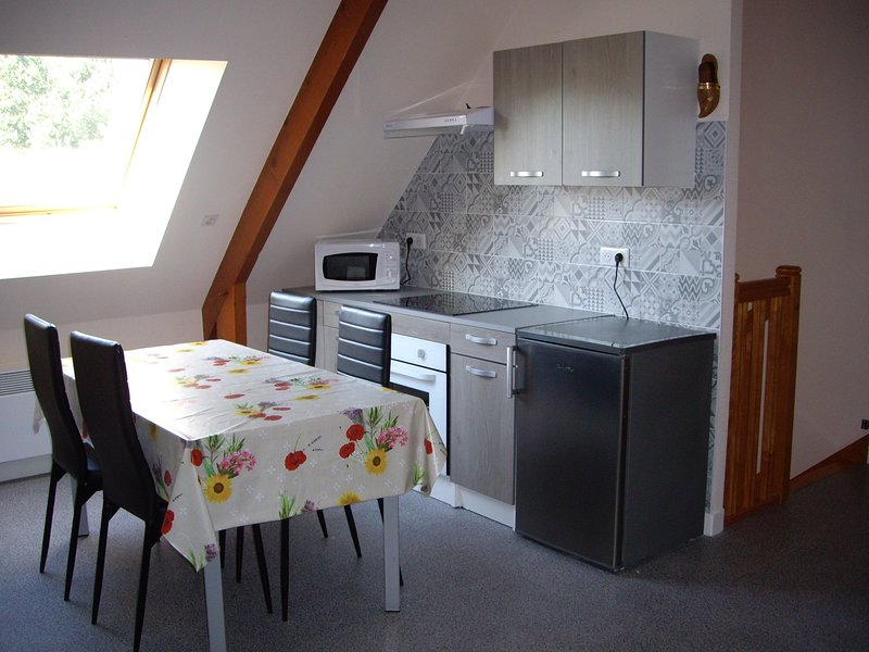 Nice apartment with garden & Wifi, holiday rental in Saint Andre des Eaux