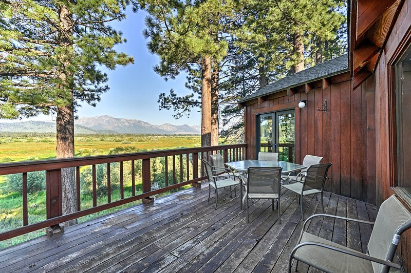 Explore the splendors of South Lake Tahoe from this classic cabin!