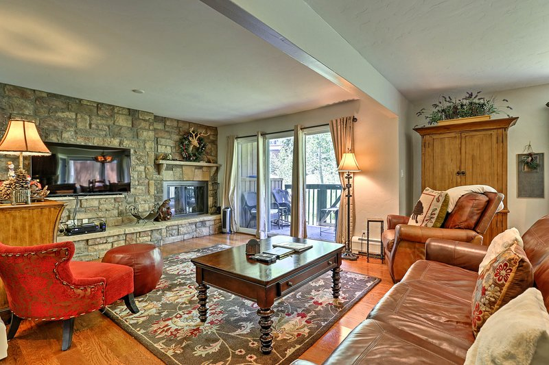Unwind in this 2-bedroom, 2-bathroom vacation rental condo in Vail.