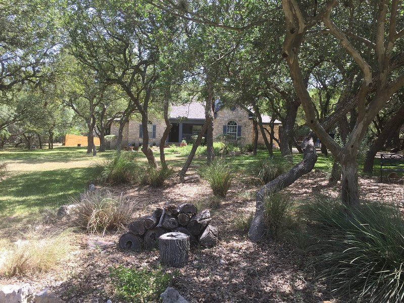 Private Master Suite attached to home on beautiful and serene 1.5 acre property in Dripping Springs.