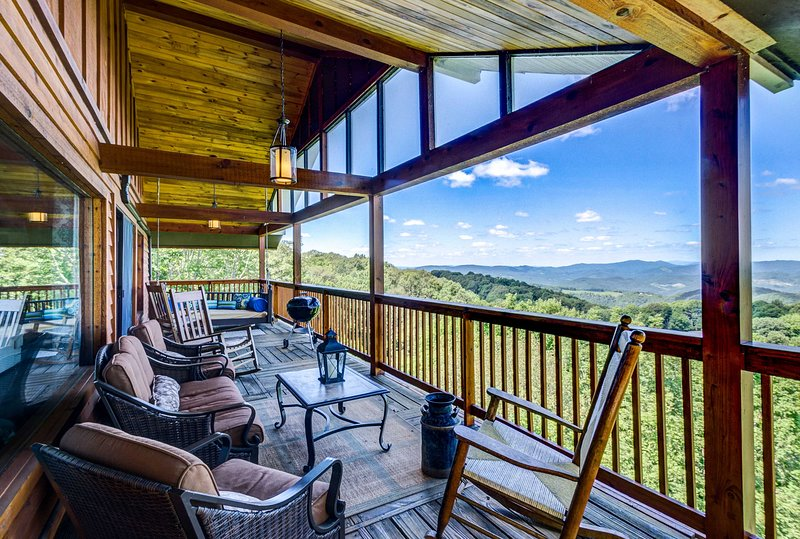 Beech Mountain doesn't get better than this! See it all from this stunning home!