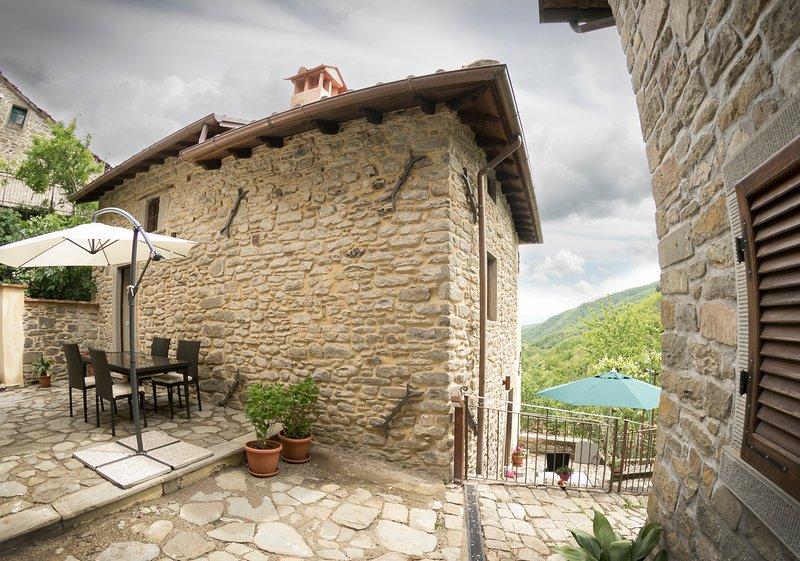 Casa La Ciucola, presso Canto del Fiume, Toscana, holiday rental in Quota
