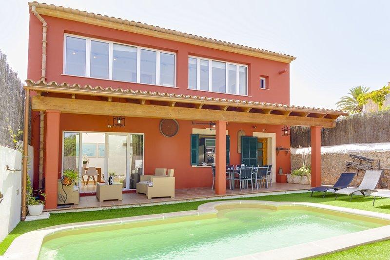 Casa Son Arnau, House 5StarsHome Mallorca, vacation rental in Selva