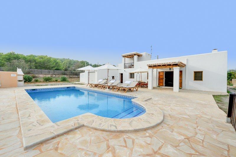 Los Naranjos, Villa 5StarsHome Ibiza, location de vacances à Roca Llisa