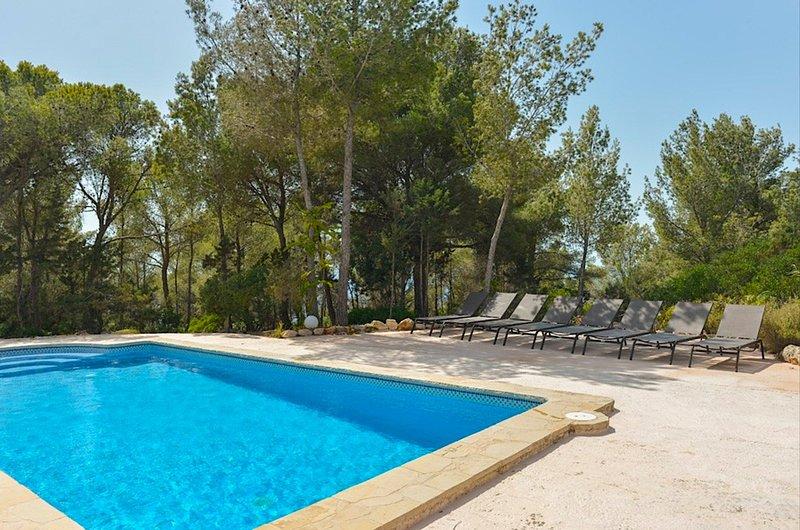Finca Romero II, Villa-Finca 5StarsHome Ibiza, holiday rental in Sant Josep de Sa Talaia