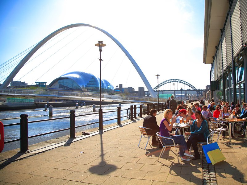 Newcastle's vibrant centre is a must