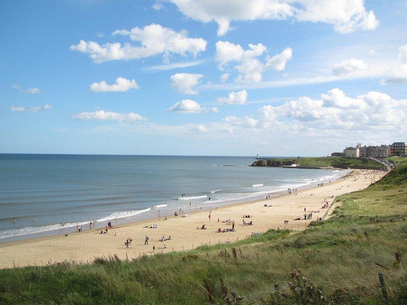 Visite la playa, los bares y las tiendas de Tynemouth.