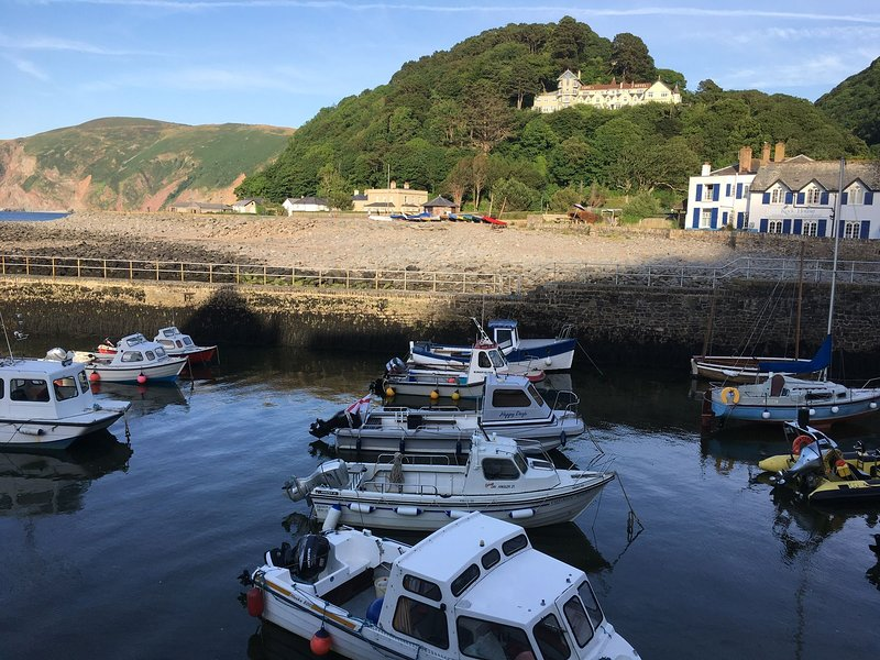 Seaview, Lynmouth - Spacious Grade II listed property sleeping up to 8 guests in, holiday rental in Barbrook