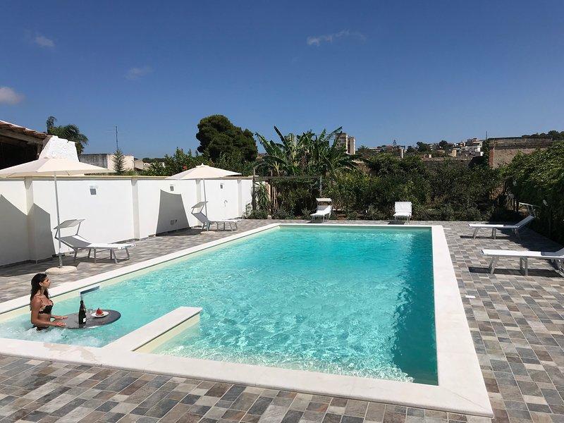 Villa con Piscina Vivi Marsala, location de vacances à Marsala