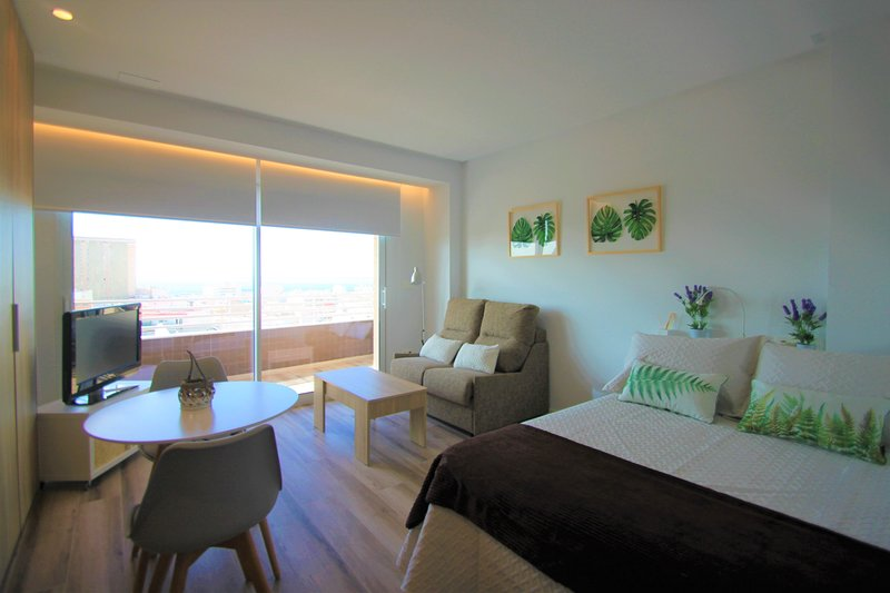 Estudio con Vistas que enamoran en Centro de Alicante., aluguéis de temporada em Callosa de Segura