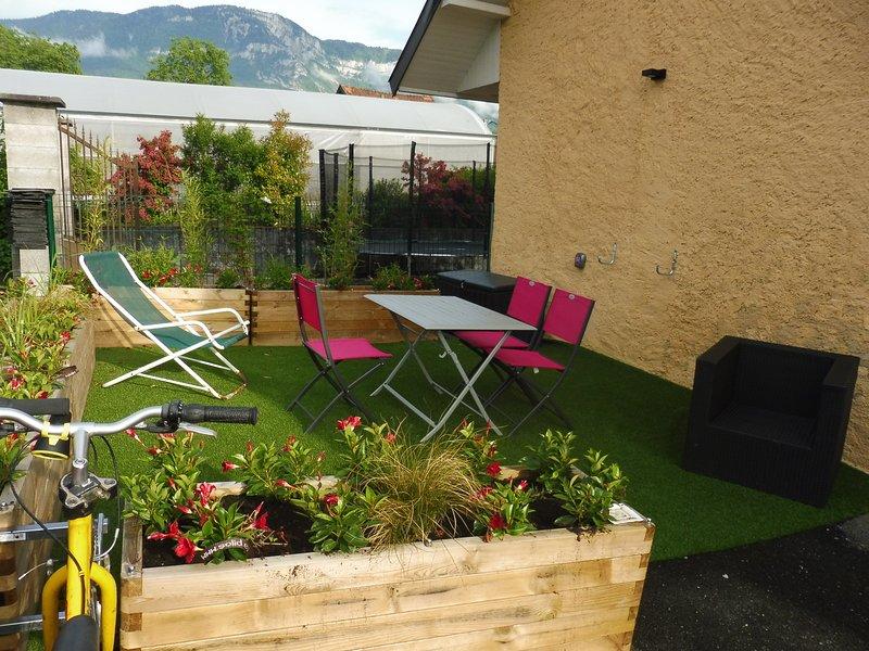 T2 au calme Chez cathy classé 3 étoiles, casa vacanza a Montcel