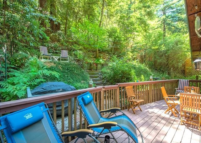Absolute Zen Lovely Home in the Redwoods!, vacation rental in Duncans Mills