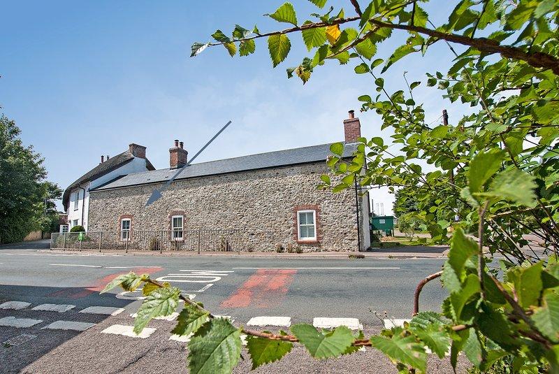 Elm Cottage, Colyford, Seaton, Devon, in der Nähe der Jurassic Coast.