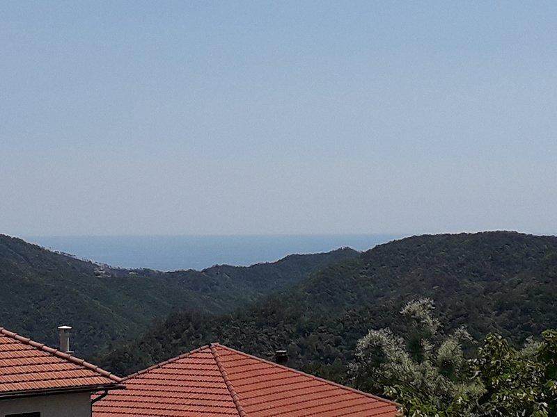 appartamento con vista aperta verso il mare, vacation rental in Ellera