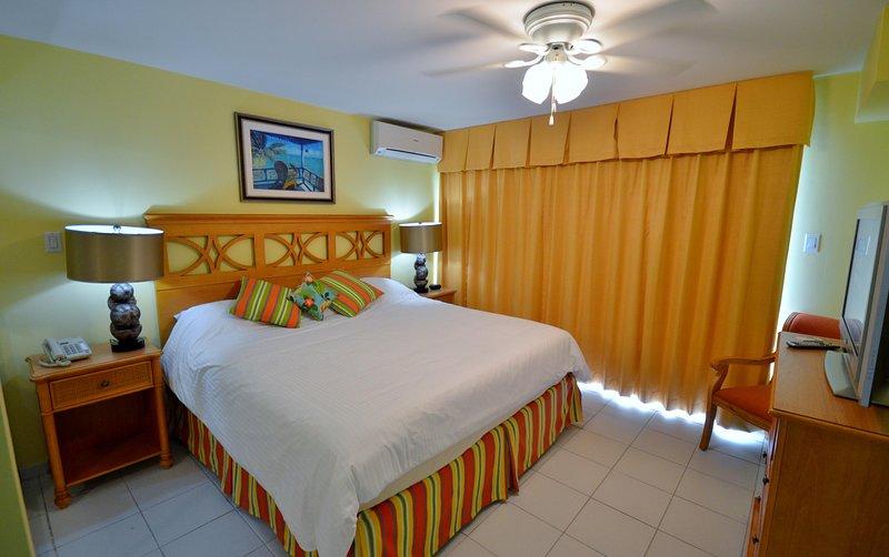 Atrium Beach Resort Bedroom