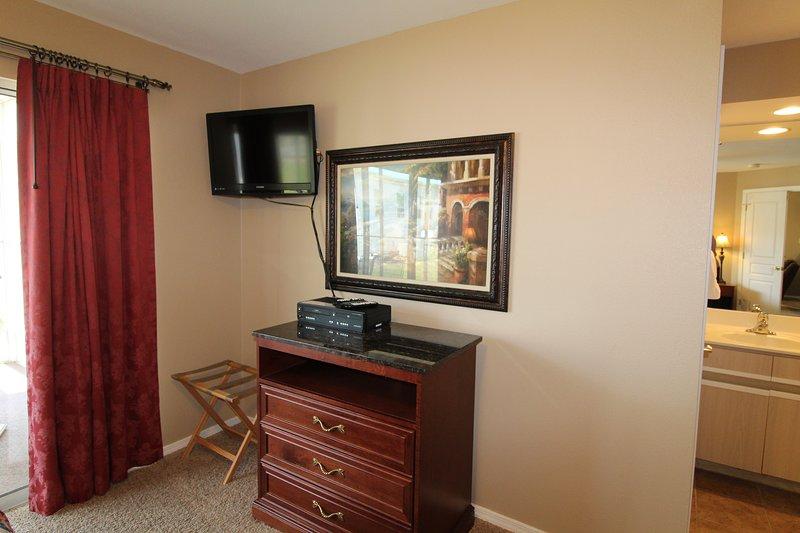 HD TV por cable en el dormitorio principal