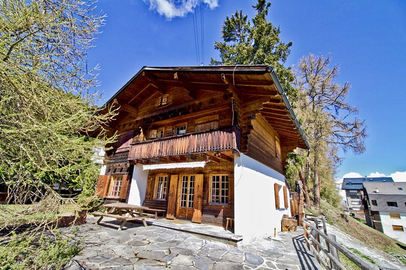 Beautiful cottage in the heart of Thyon-les-Collons Chalet in Thyon / Les Collons