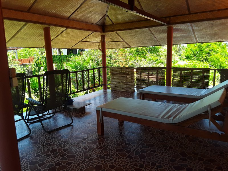 Great for private massage, reading that holiday book - normally with most welcome sea breeze.