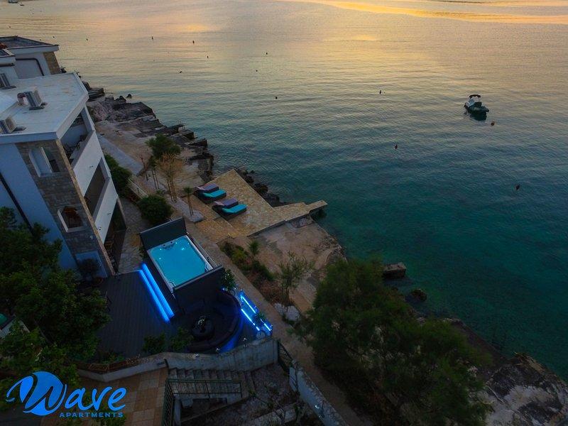 beach house / apartments WAVE, holiday rental in Razanj