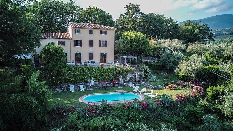 Villa Silvestrini, alquiler vacacional en Germinaia