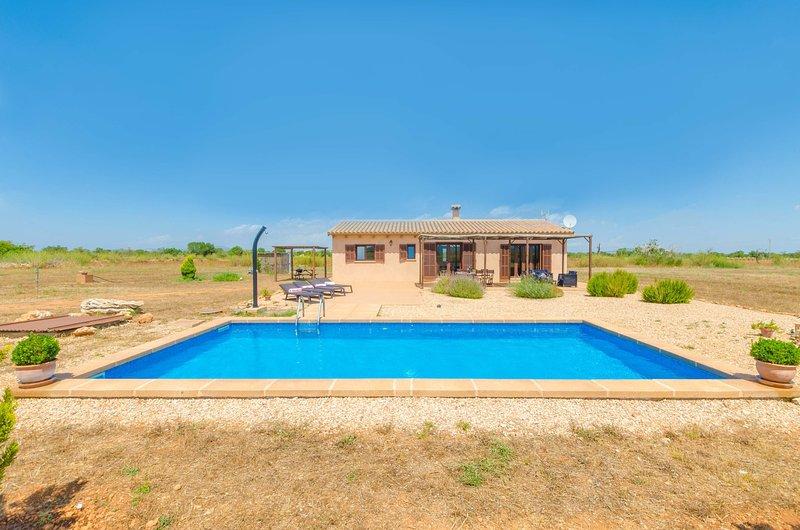 SON FRED - Villa for 6 people in FELANITX, vacation rental in Felanitx