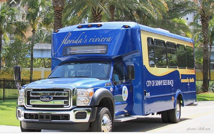 THE CITY OF SUNNY ISLES GIVES YOU FREE TRANSPORTATION !!