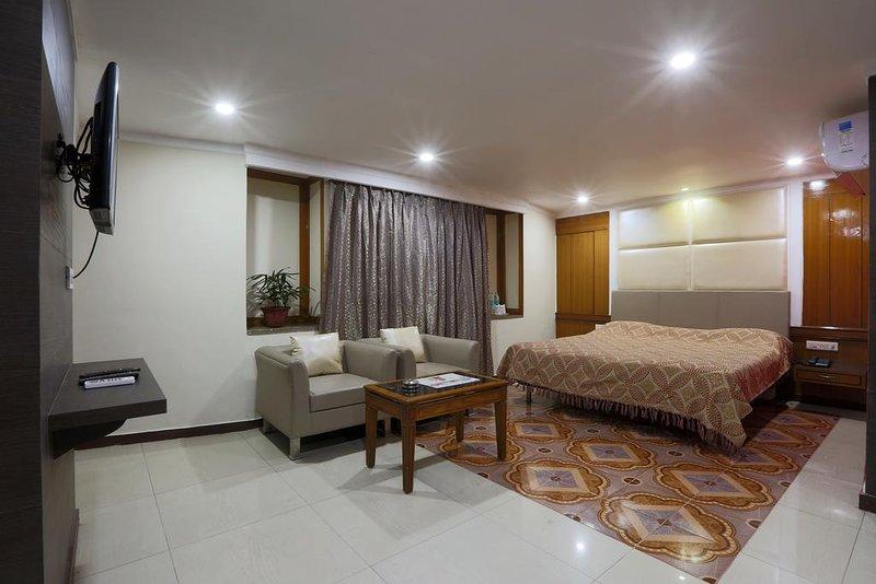 Hotel Rodali Residency Executive Room, alquiler de vacaciones en Guwahati