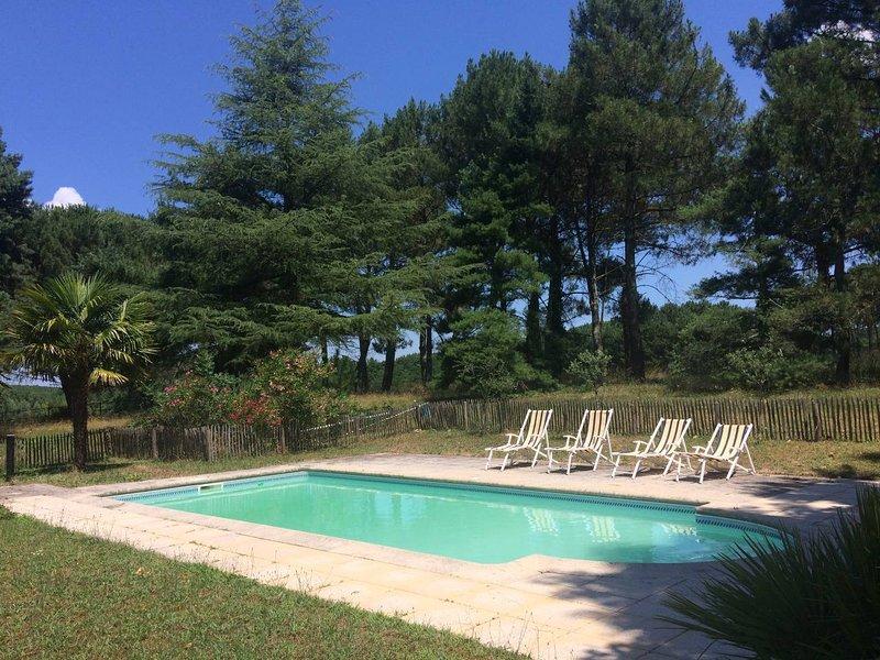 Calme Tranquilité, vacation rental in Beautiran