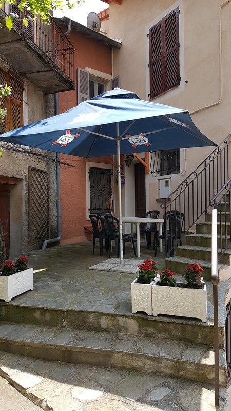 Small terrace ...