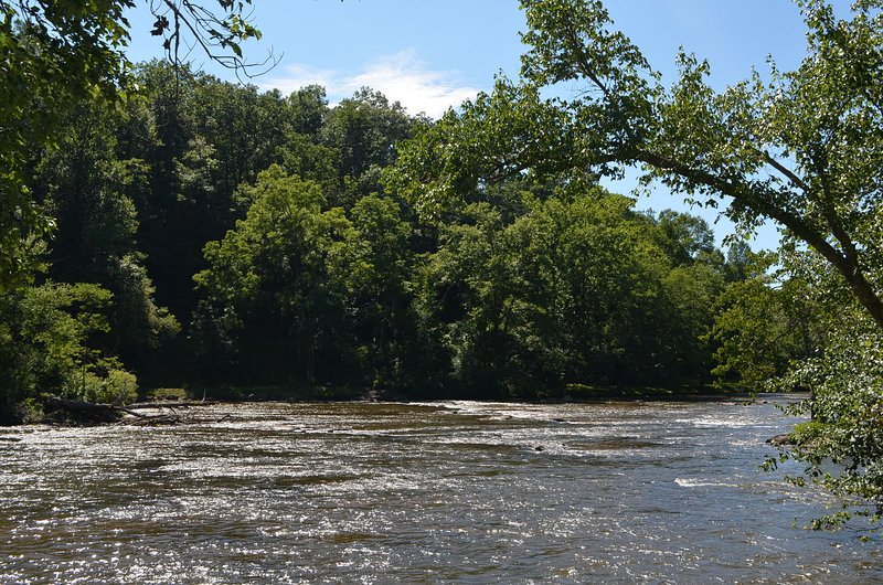 Tuckasegee River (Across from Community)