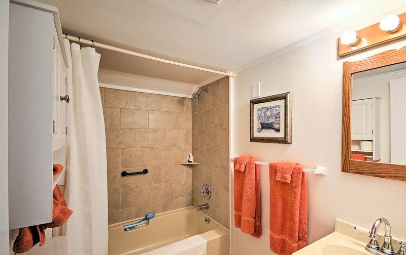 Waschen Sie den Tag in Bad 4.