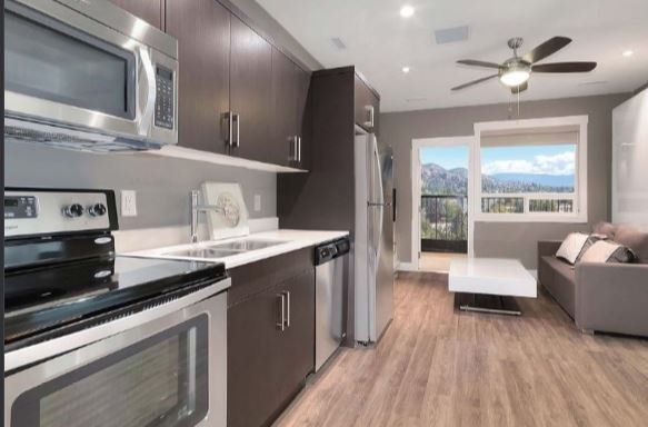 New Downtown Kelowna Home Away from Home: Updated: NEW 2 pc WASHER DRYER, holiday rental in Homfray Creek