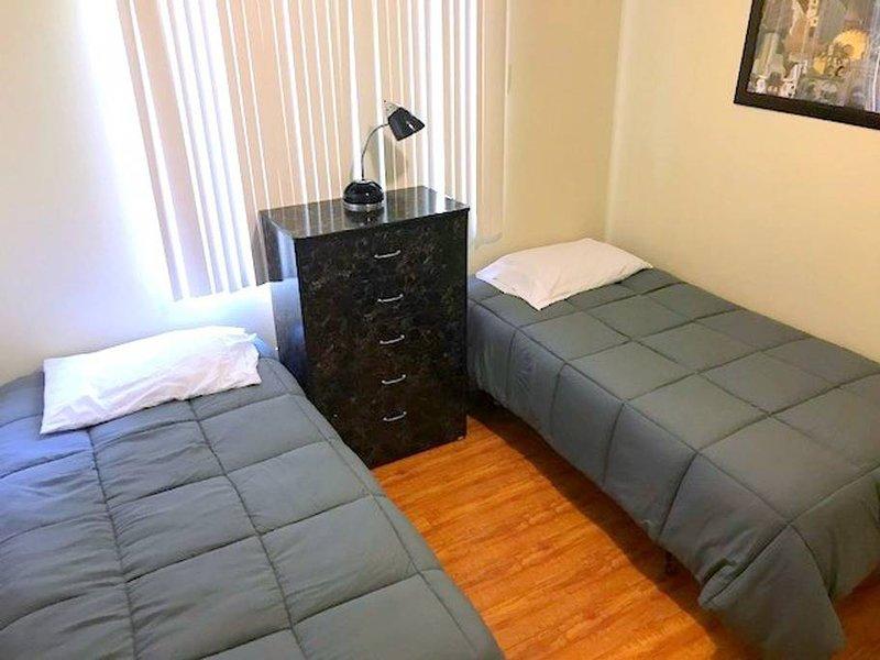 Camera da letto # 2 - 2 gemelli