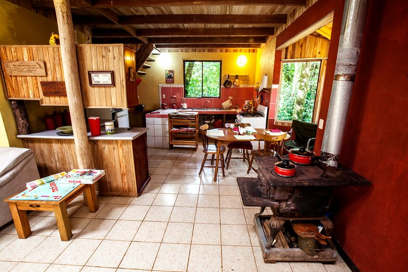 Farm House Retreat on the Guindon Farm, Ferienwohnung in Nationalpark Monteverde