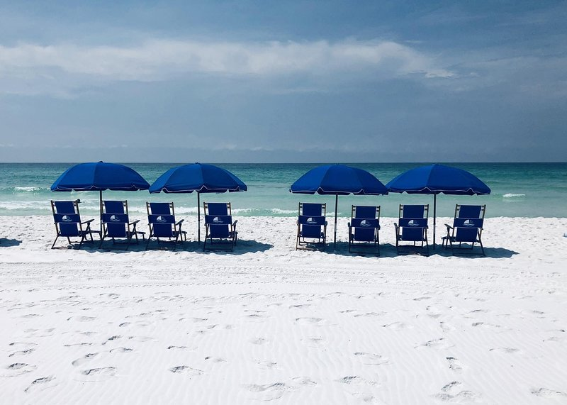 Beach Chair service is available for your convenience!