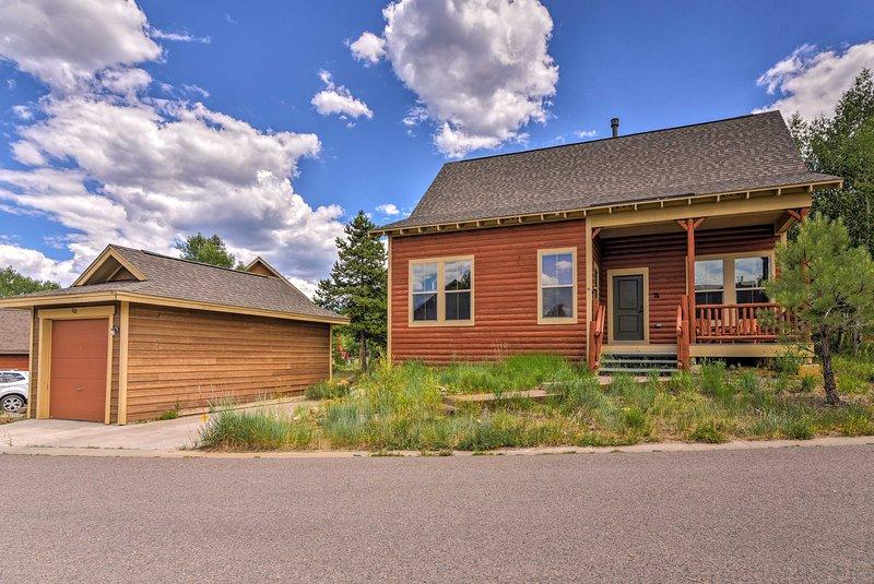 Questa casa per le vacanze si trova a Granby, in Colorado!